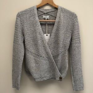 NWT Lucky Brand Oatmeal Button Cardigan XS